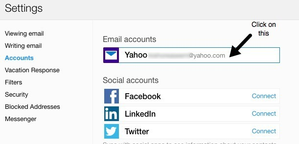 yahoo mail accounts